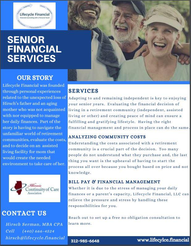 Seniors Brochure